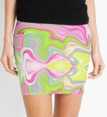 Iridescent Marble Mini Skirt