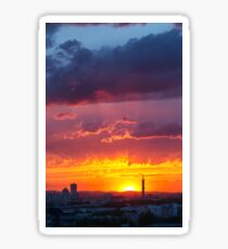 Epic Dramatic Sunset Sky Sticker
