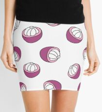 mangosteen doodle pattern Mini Skirt