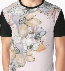 pastel floral  Graphic T-Shirt