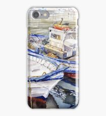 Barcas en El Puerto, Almeria, Spain iPhone Case/Skin