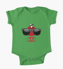 DAB PANDA dab on em dabber dance football touch down red One Piece - Short Sleeve