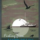 One Way Trips Presents 'Fishing From Amity Beach' by Bristol Noir