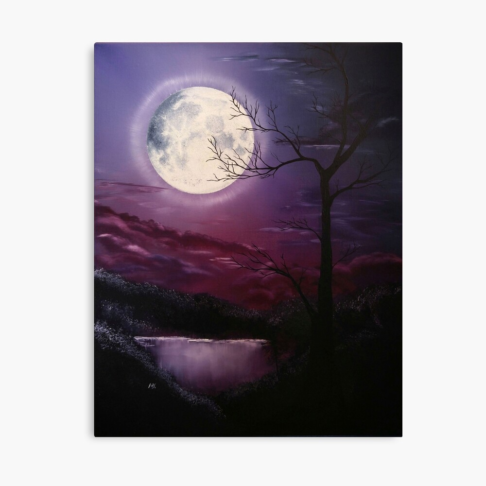The Warm Fragrance of July Canvas Print