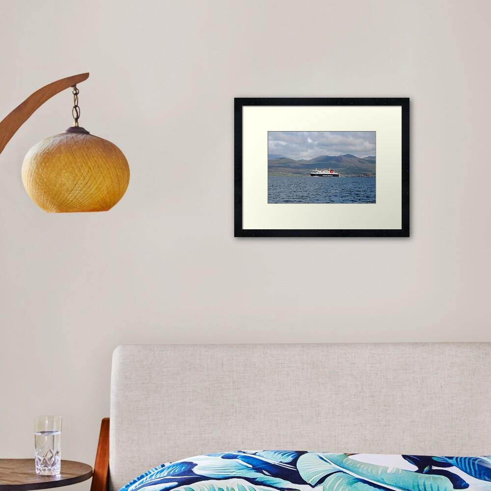 MV Isle of Lewis Framed Art Print
