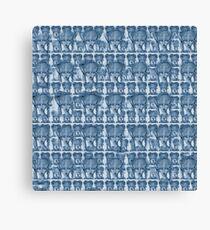 blue willow princess Canvas Print