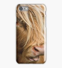 Highland Cow Portrait iPhone Case/Skin