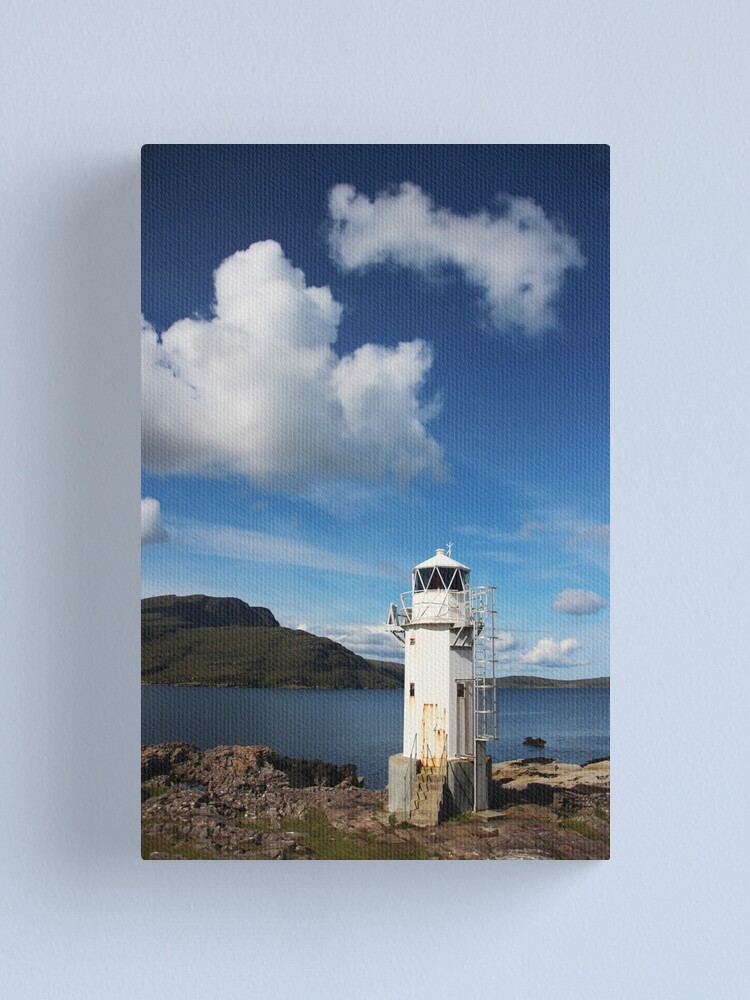 Alternate view of Rhue Lighthouse Canvas Print