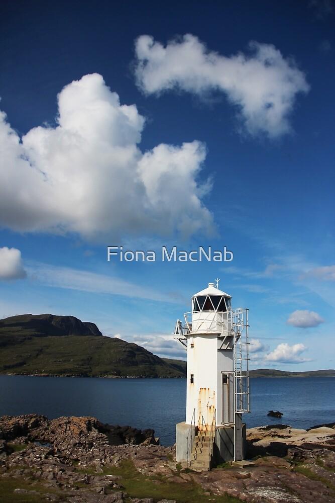 Rhue Lighthouse by Fiona MacNab