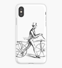 vintage cyclist | Bike iPhone Case