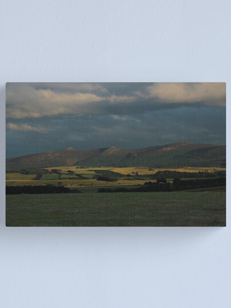 Alternate view of Bennachie view Canvas Print