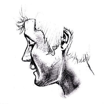Dan Smith - pencil  by demeka-art