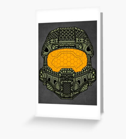 The Chief. Greeting Card