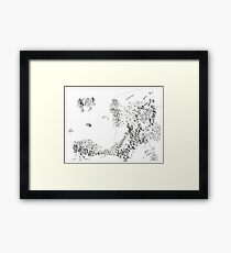 RolePlaying Map Framed Print