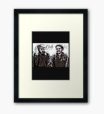 Fidel Castro and Che Guevara Framed Print