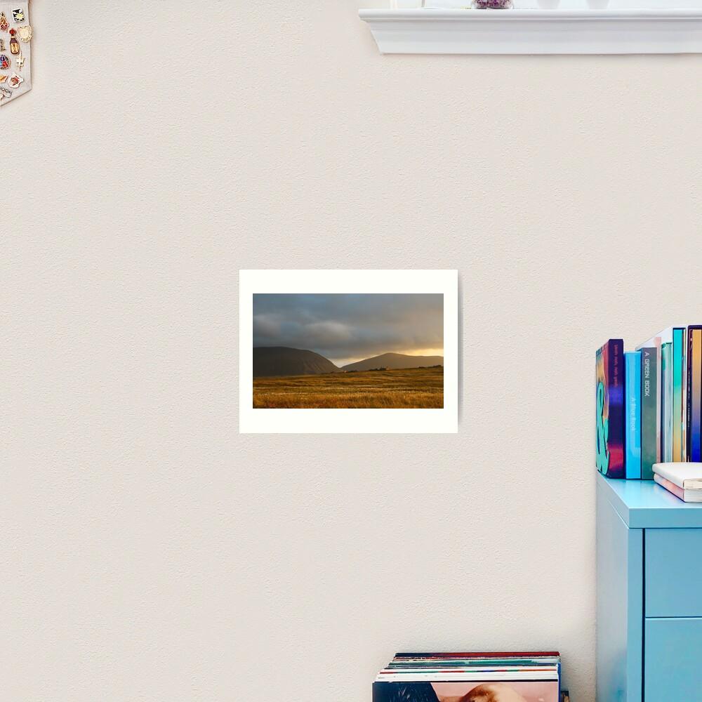 Evening light on Hoy and Graemsay Art Print