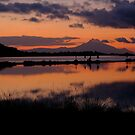 Sunrise over mount Athos, Greece by Ivo Velinov