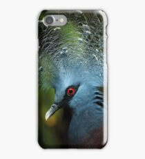 Victoria Crowned Pigeon iPhone Case/Skin