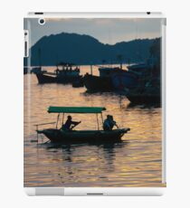 Cat Ba sunset iPad Case/Skin
