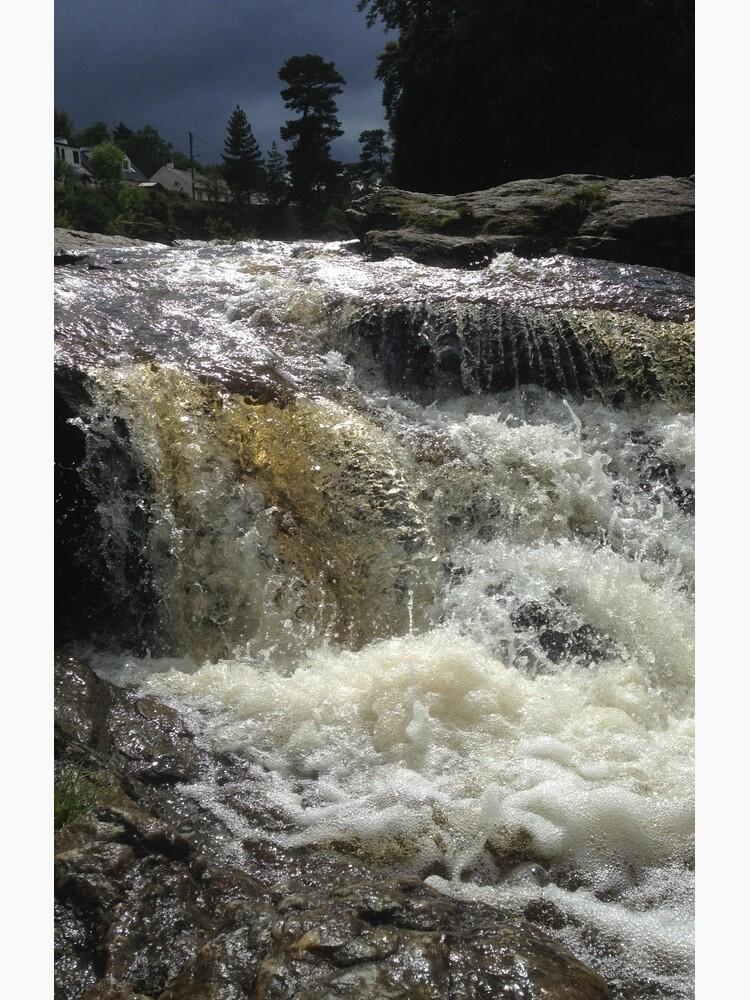 Falls of Dochart, Killin by orcadia