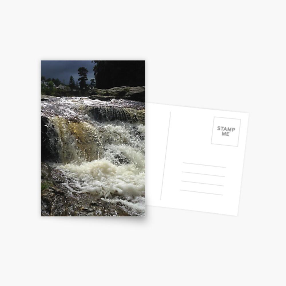 Falls of Dochart, Killin Postcard