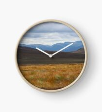 Cairngorm autumn Clock