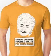 The Golden Girls - Blanche Devereaux - Rue McClanahan - Flirting T-Shirt