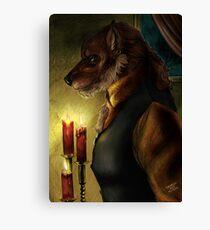 Werewolf - Gentleman Canvas Print