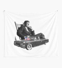 Limousine und Kennedy Wandbehang