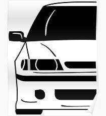 Subaru Legacy First Generation Poster