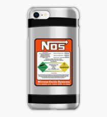 NOS Steel Case iPhone Case/Skin