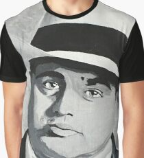 Classic American Gangster Al Capone Graphic T-Shirt