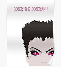 Ghostbusters Minimalist Series - Gozer Poster