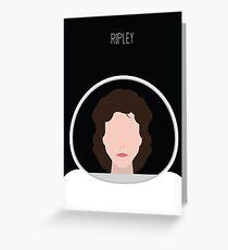 Alien Minimalist Series - Ripley Greeting Card