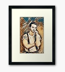 Andrew Scott Painting Framed Print