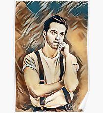 Andrew Scott Painting Poster