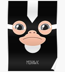 Gremlins Minimalist Series - Mohawk Poster