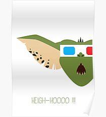 Gremlins Minimalist Series - Gremlin 3D Poster