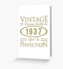 1937 Premium Quality Greeting Card