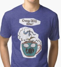Crazy Coffee Mug Tri-blend T-Shirt
