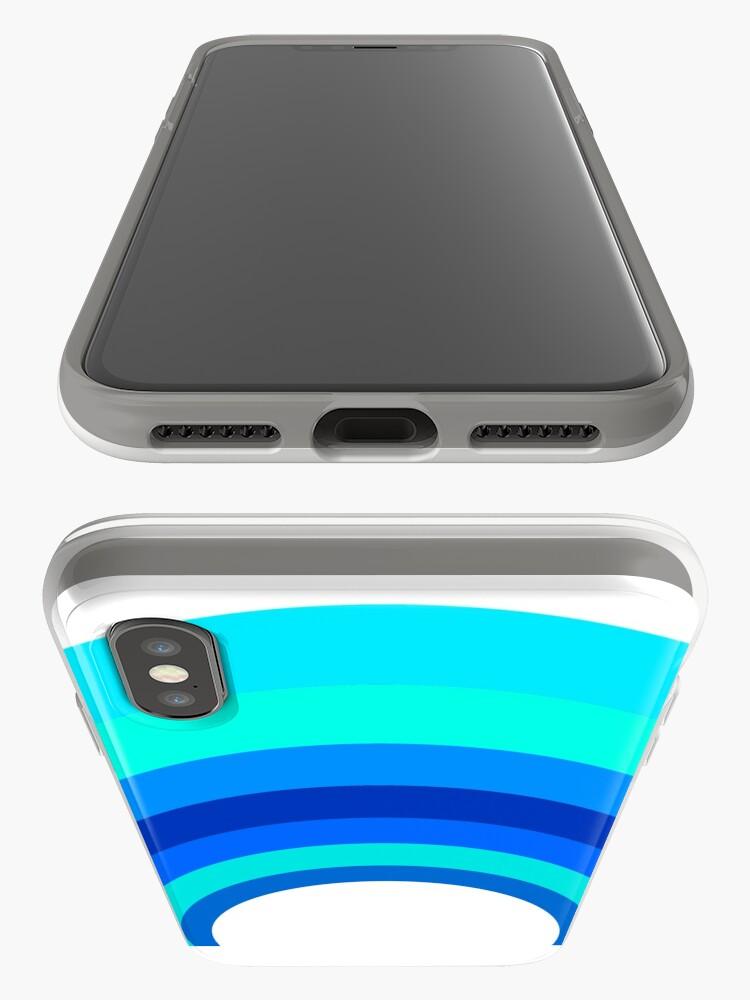 Alternative Ansicht von Blue Rainbow iPhone-Hülle & Cover
