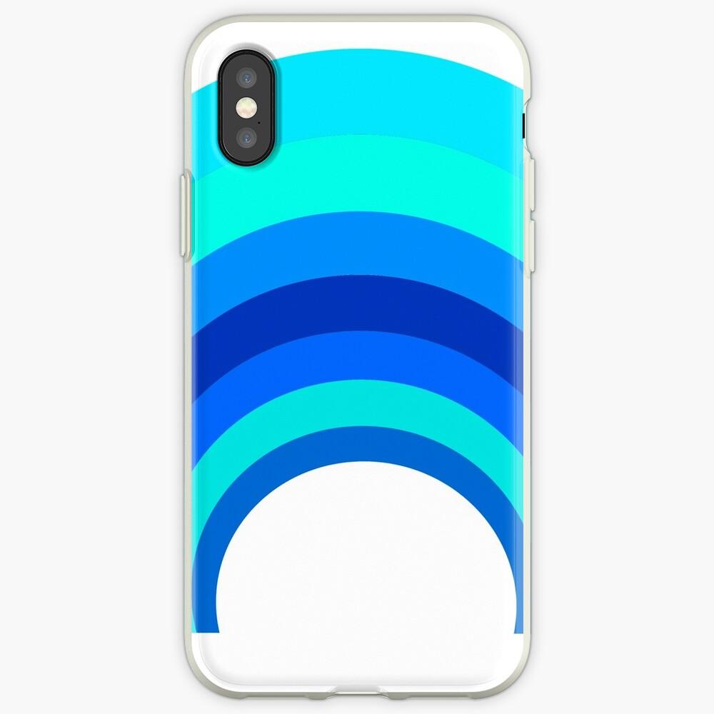 Blue Rainbow iPhone-Hülle & Cover