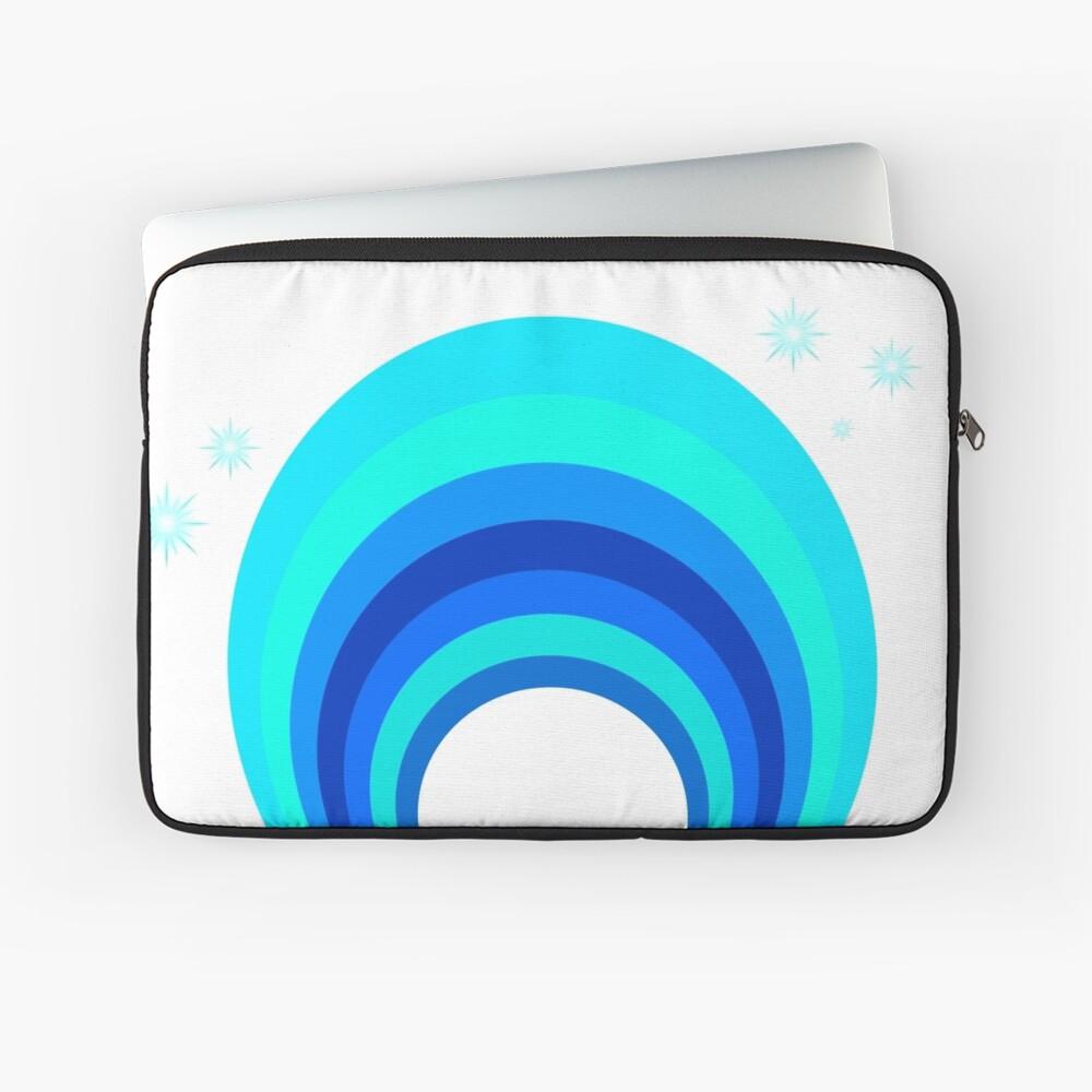 Blue Rainbow Laptoptasche