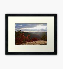 Natural Bridge, Kentucky Framed Print
