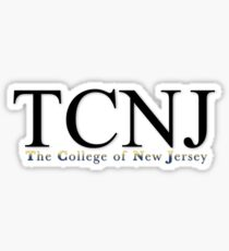 TCNJ | The College of New Jersey Sticker