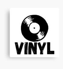 Vinyl Records Forever Canvas Print