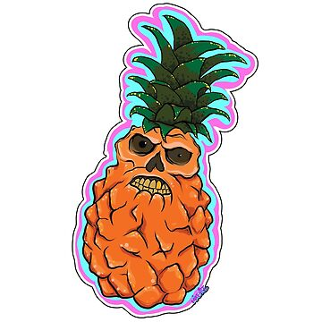 The Angry Pineapple by mikehite