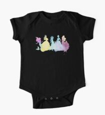 The Colors of the Princesses One Piece - Short Sleeve