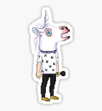 Pixel Unicorn Harry Sticker