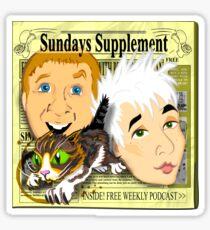 Sundays Supplement Official Tee Sticker